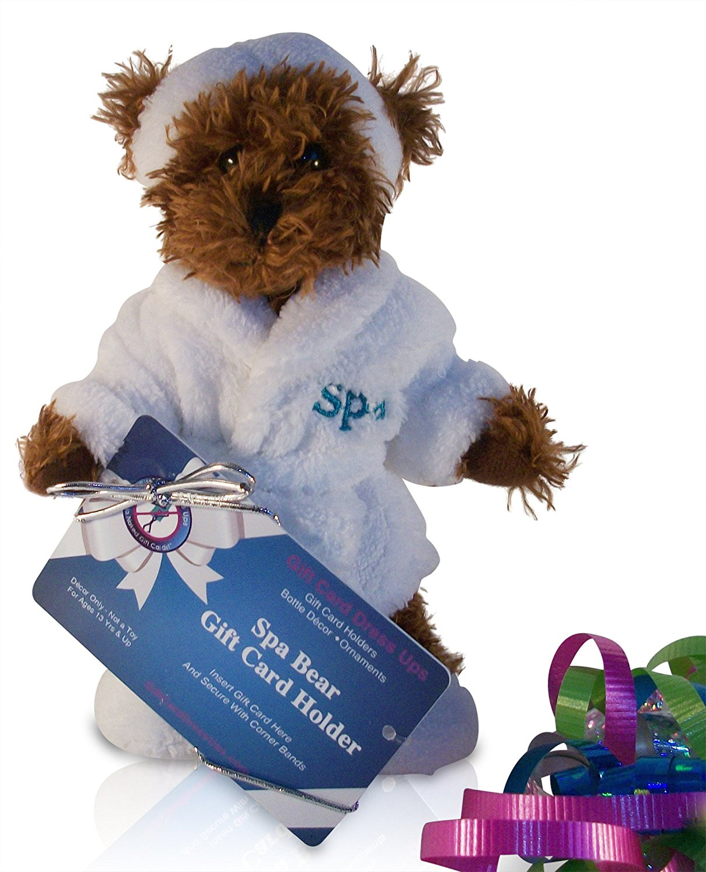 Buy Stuffed Spa Bear Gift Card Holder Accessories Money Holder For