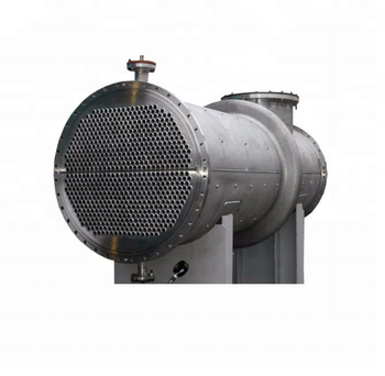 Pharmaceutical industrial shell-and-tube heat exchanger