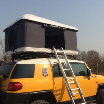 2017 New Style Fiberglass Roof Top Tent Mini Cooper Camping Car Tent