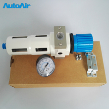 40 Micron FRL Festo Type Air Filter Regulator With Gauge