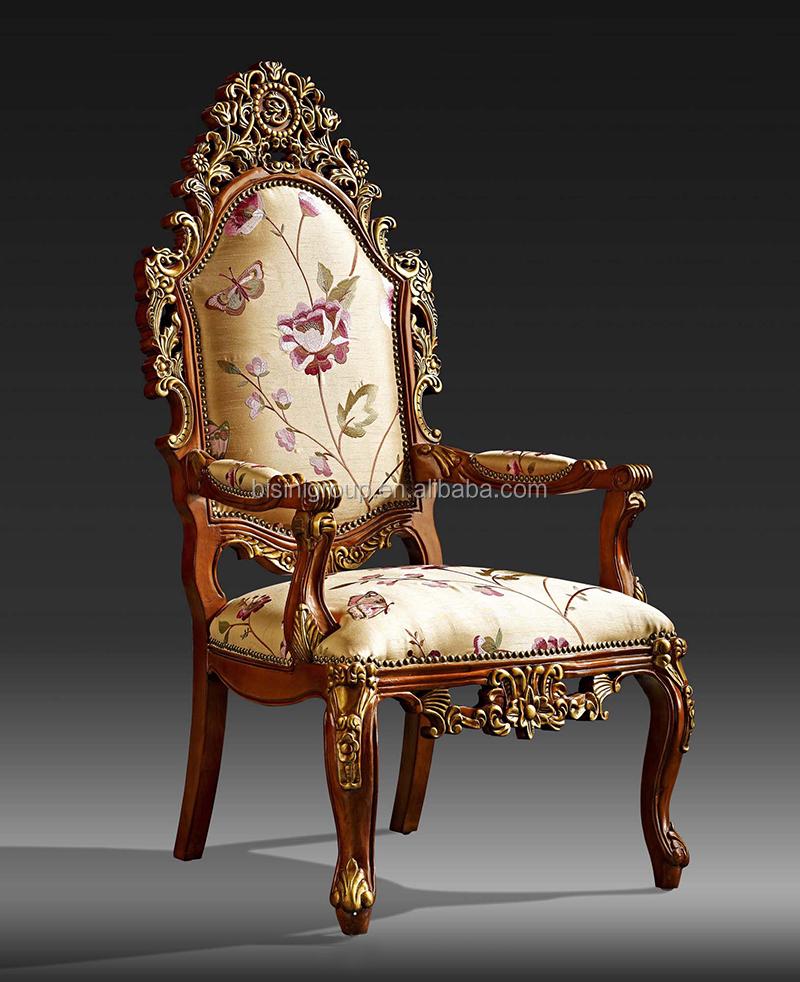 silla estilo ingles madera
