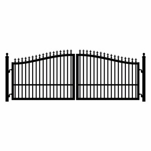 2019 Hot Sale High Quality Iron Fancy Gate Boundary Wall Gate Designs