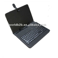 "10 inch Universal Keyboard Leather Case for 10inch MID,Tablet PC with Stand,7"" & 8"" case aslo available"