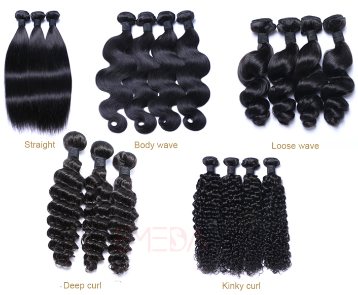 Factory Price Unprocessed Virgin Filipino Hair Weft Human Hair Weave