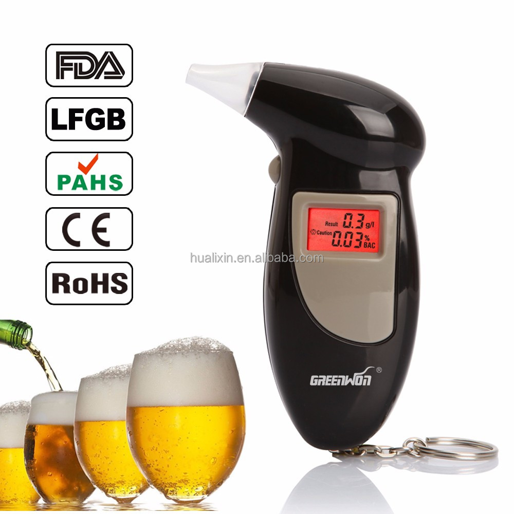 Mouthpiece LCD Backlight Digital Breath Alcohol Tester with Cheaper Price