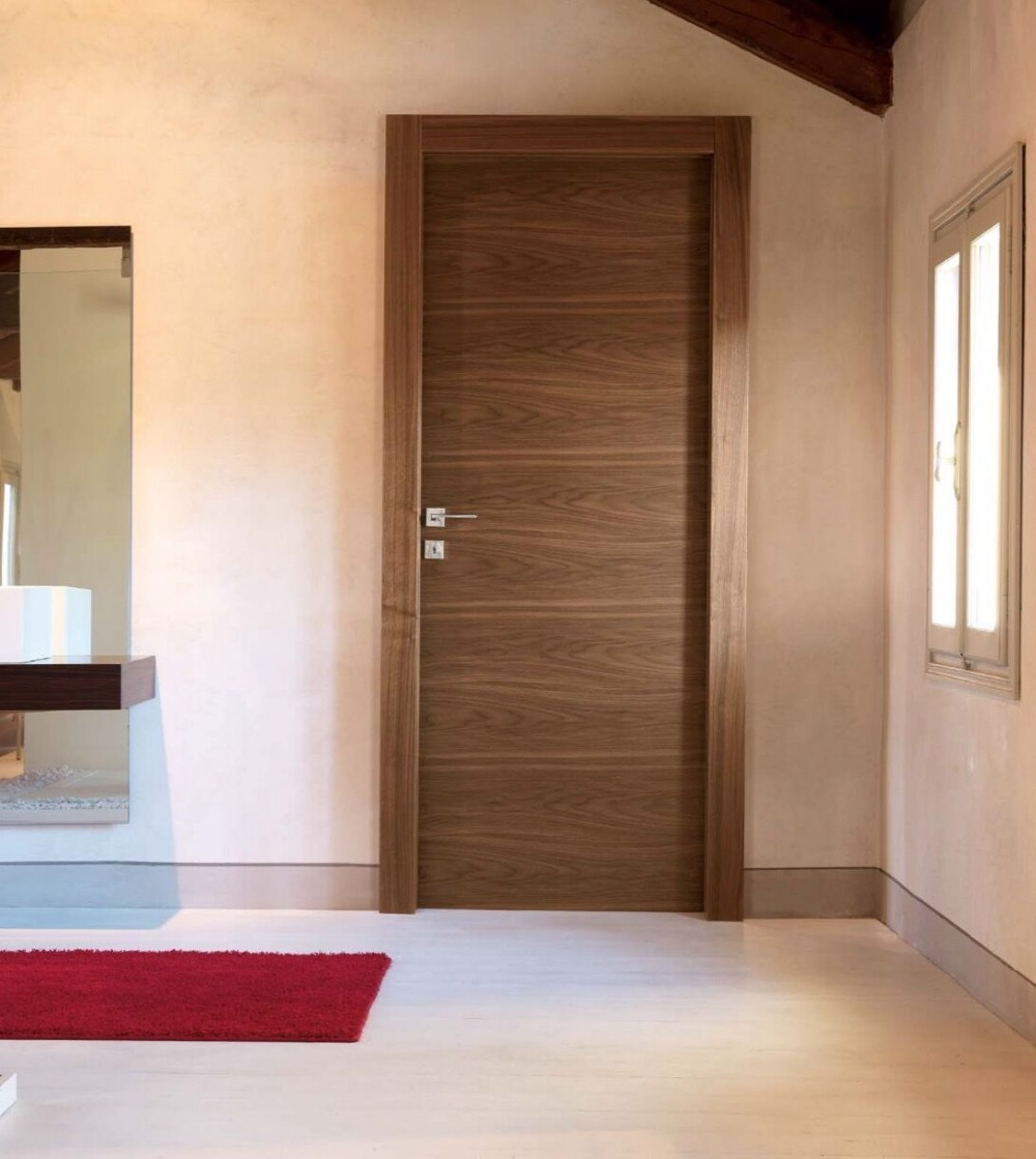 Walnut Veneer Laminated Mdf Interior Doors Buy Interior