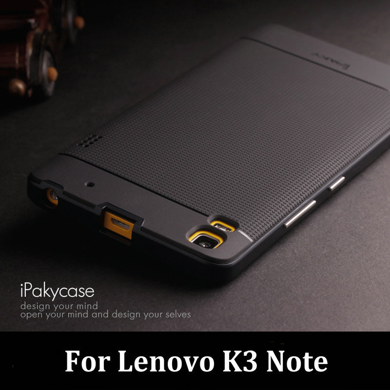 san francisco 1c22b 7a24c For Lenovo K3 Note Case Original iPaky Brand Luxury Neo Hybrid Silicone  Back Cover