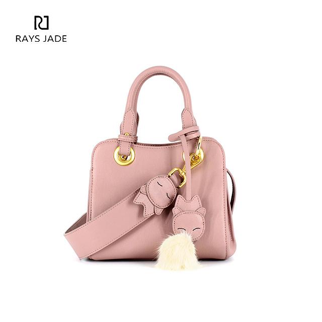 5d8cb165f4b8 Elegant real leather mini satchel bag ladies party handbags