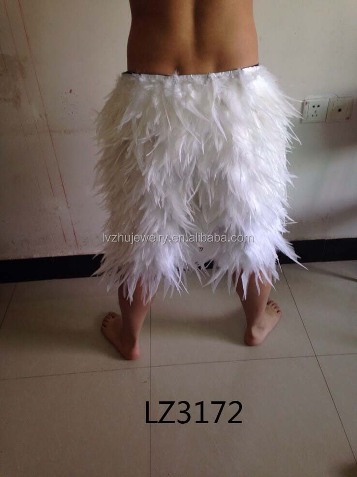 Showgirl/Dance Burlesque Feather Costume Mini Skirt LZ3172