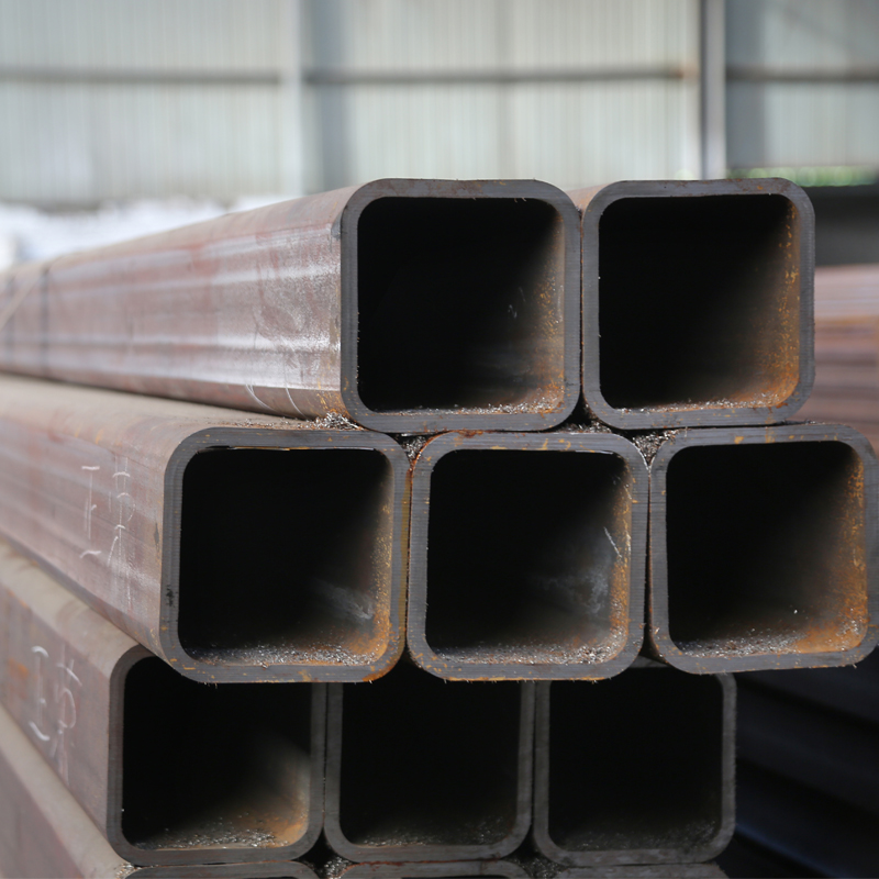3 inch hollow section welded black galvanized square metal steel tubing