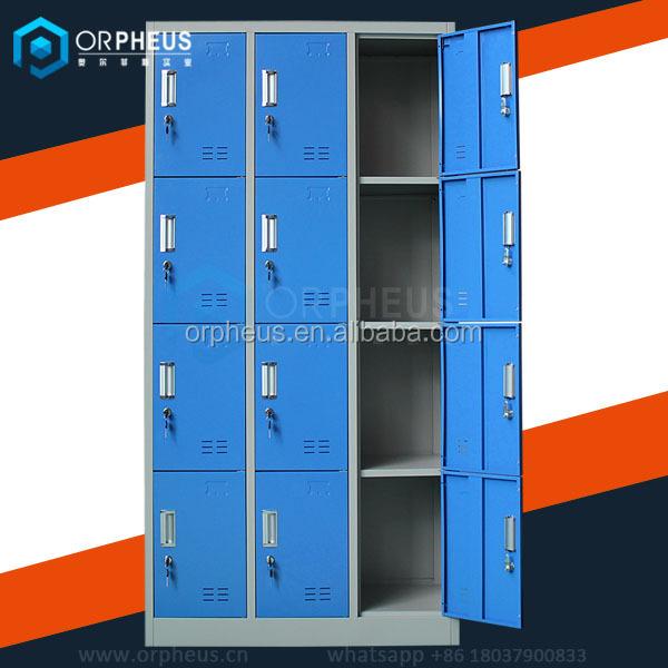 France equipement armoire vestiaire industrial casier metal 12 door changing - Armoire casier metal ikea ...