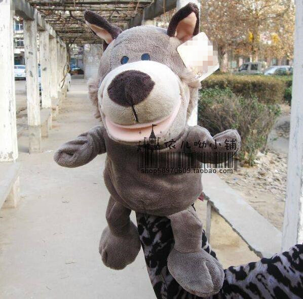 Childhood Soft Toy Wolf Shape Hand Puppet Kids Toy