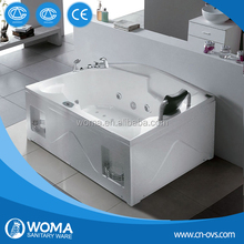 hydromassage bathtubs and whirlpools mat with pillow Q361
