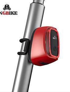 L-963 Bike Light Rear Bike Light 1 Mode 400 Bike DC 1 AAA Waterproof / Smart Cycling 50.200 Black / Blue / Green / Red , blue