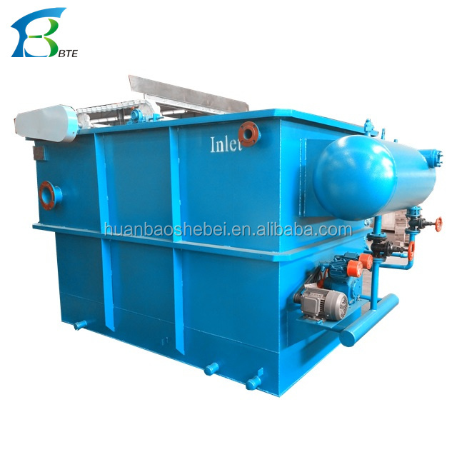 2-300CBM/hr Dissolved Air Flotation Device,Industry sewage Water treatment DAF machine