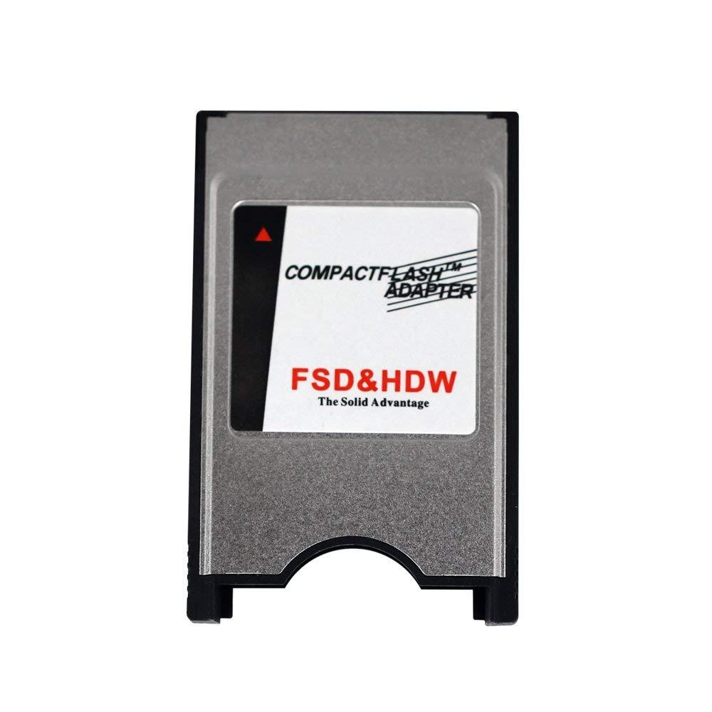 ATA Flash//UDMA INTEFIRE PCMCIA Compact Flash Card CF to PCMCIA PC Memory Card Adapter Reader