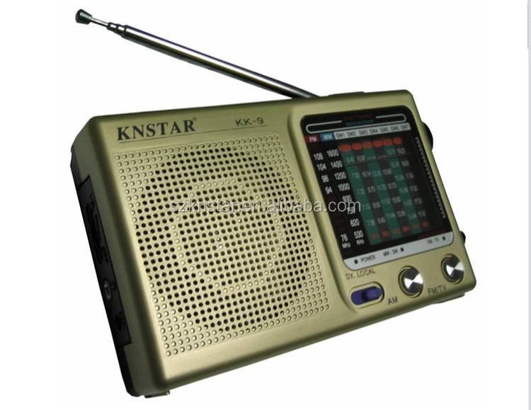 Knstar Am Fm Pocket Mini Radio Used For Promotion