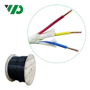 VDE Standard 3 Core 2.5mm2 061KV AC Power Cable