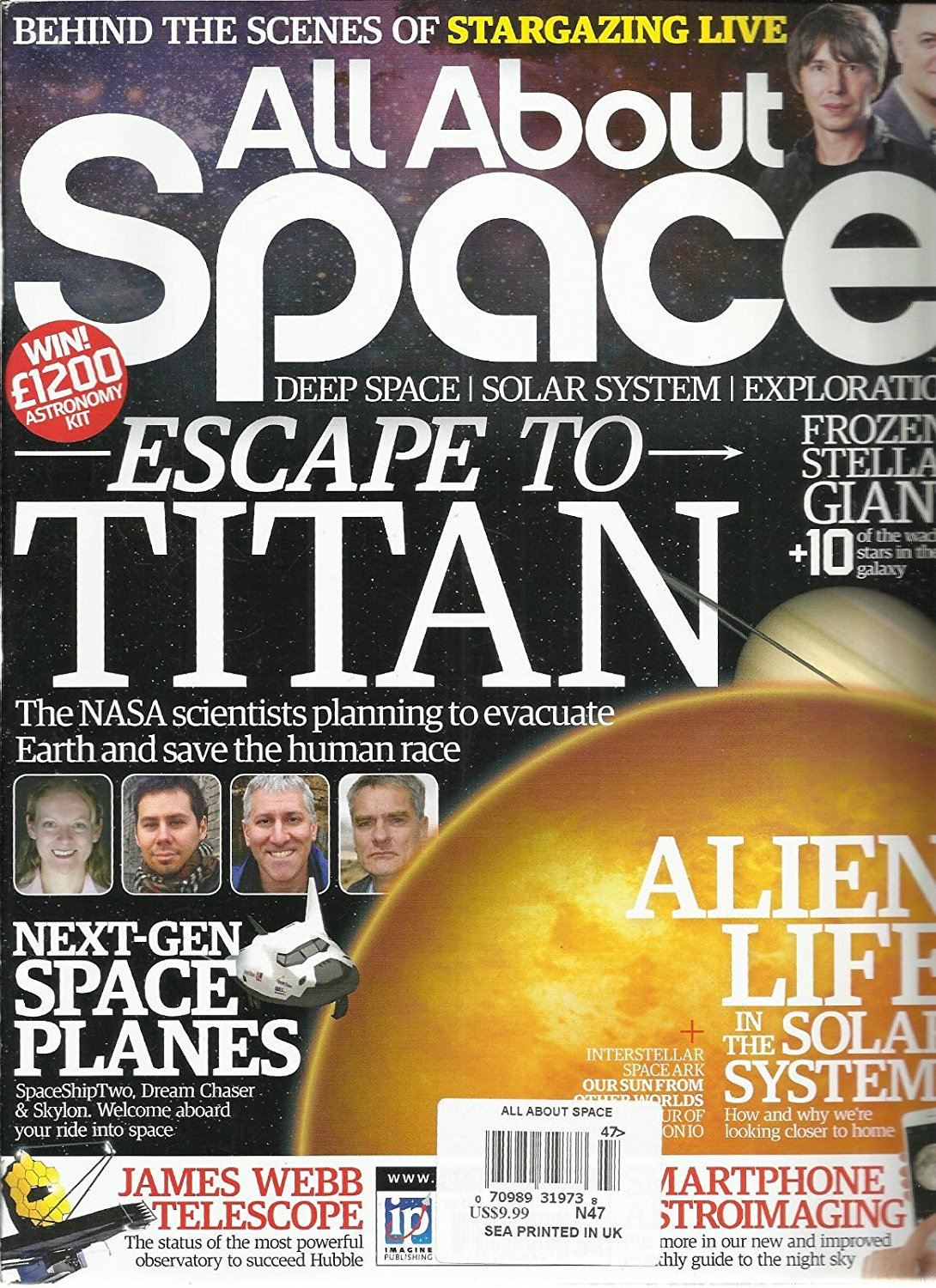 ALL ABOUT SPACE, NO.47 ( DEEP SPACE SOLAR SYSTEM EXPLORATION * ESCAPE TO TITAN