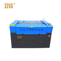 China High Speed 9060 CO2 Laser Engraving and Cutting Machine for Rubber, Wood and Plastic