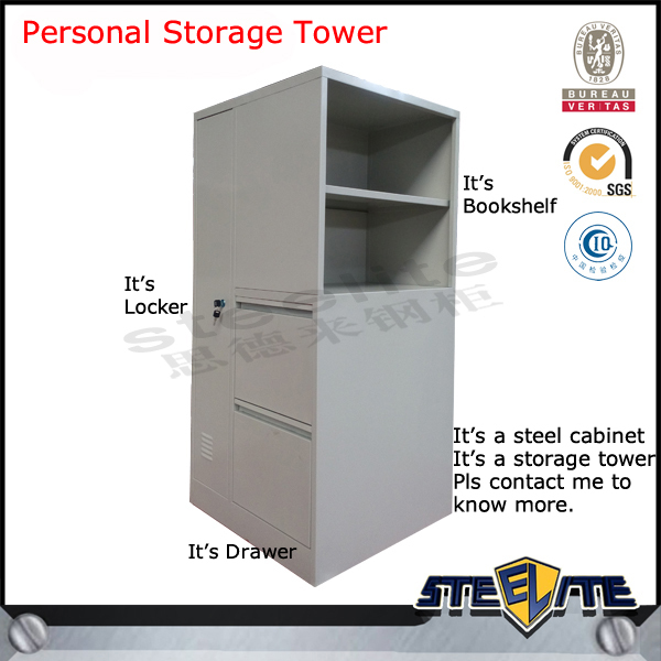 Personal Storage Tower/office Storage Cabinet/right Personal ...