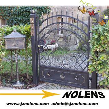 Principal de hierro portones hierro moderna puerta s lida for Portones de entrada principal