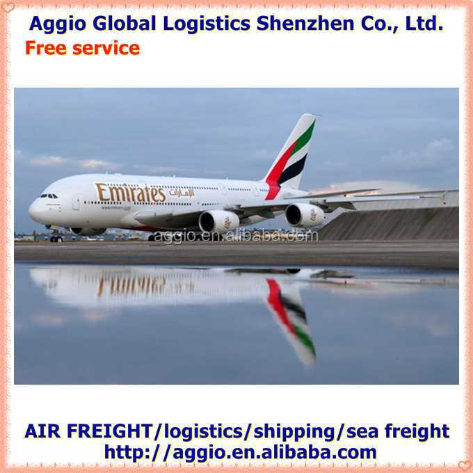 cheap air freight from China to South Africa for bamboo nail polish bottle air logistics
