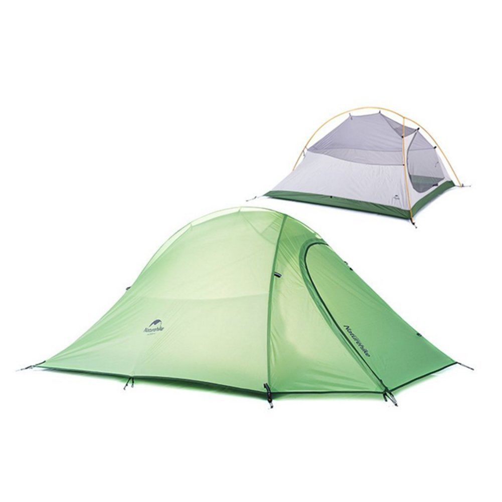 Outdoor Camping Tent ,Ablevel Ultralight 2 Person Double Layer Tent 4 Season For Travel Camping Ultralight Aluminum Rod Anti-UV Windproof Waterproof with Carry Bag