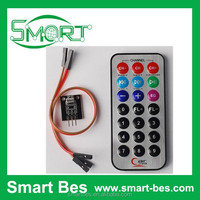 Smart Electronics~Free Ship Infrared Remote Control Receiver Module+Receiver HX1838+ Coded Infrared Remote Control