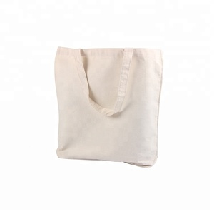 Promotional Custom Logo Printed trade Show Cotton Canvas Tote Bag