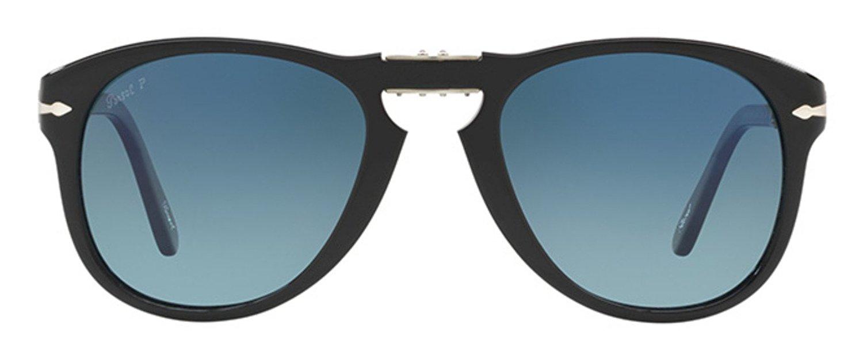 27ca9a771ea Persol PO0714SM Steve McQueen Limited edition foldable acetate sunglasses.  Size 54. Color Black (