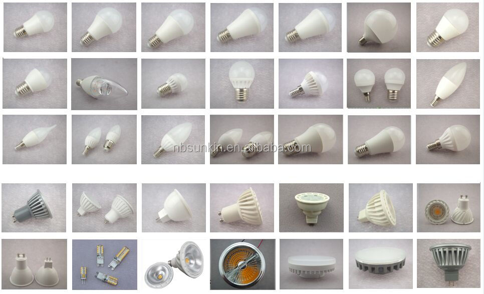 Ningbo factory Aluminum+plastic pc cover 8w led bulb light