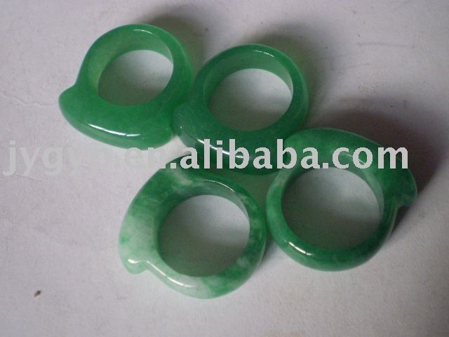 jade ring fashion jade ring jewelery agate rings