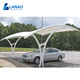 Garden shed single slope carport double car canopy