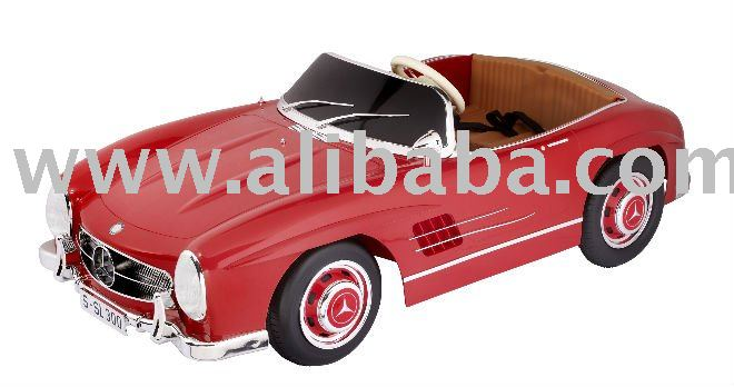Mercedes Benz 300sl Roadster Electric Ride On Car 24v Product Alibaba