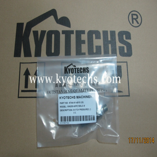 EXCAVATOR SWITCH PRESSURE FOR 6744-81-4010 6744-81-4011 6744-81-4012 6744-81-4013 WA200-6 PC160LC-8