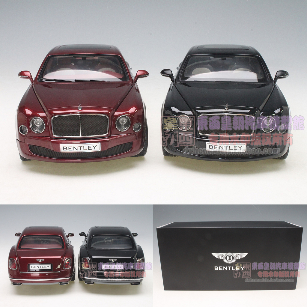 Bentley 2014: Beijing KYOSHO 1:18 2014 BENTLEY MULSANNE SPEED Bentley Mu