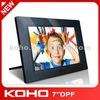 7 inch digital photo frame with high quality lcd