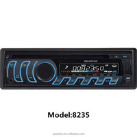 Fixed Panel 1 DIN single IN DASH Car DVD Player VCD FM AUX SD USB Phone Charging Car Mp3 Player with Remote Control 8235