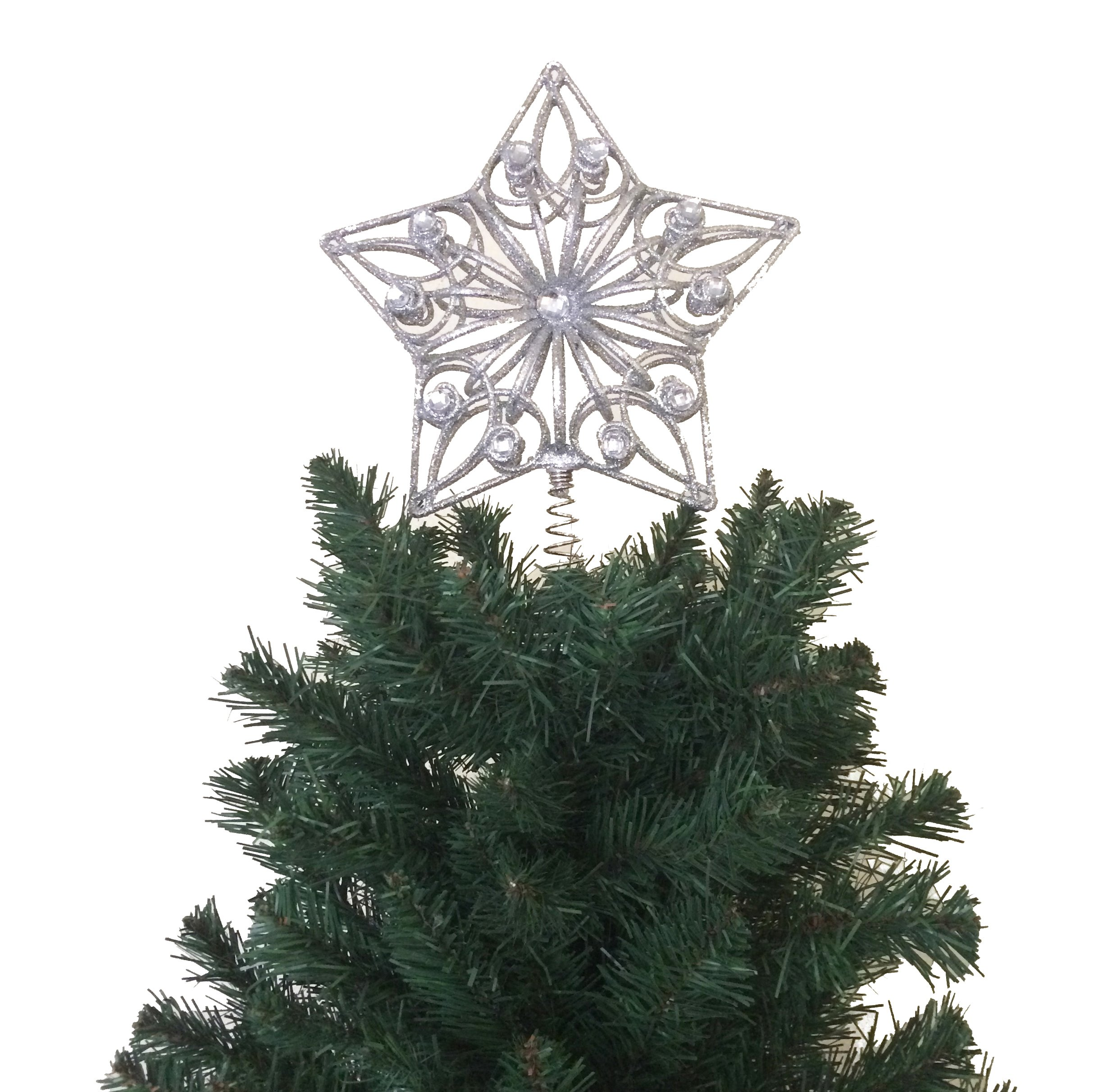 Cheap Silver Star Tree Topper, find Silver Star Tree Topper deals on ...