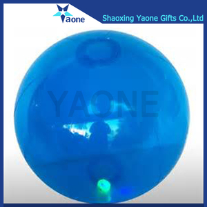 Hot selling inflatable PVC custom shape giant jumbo led beach ball