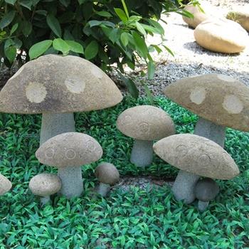 Decorative Garden Ornaments Of Stone Mushrooms Buy