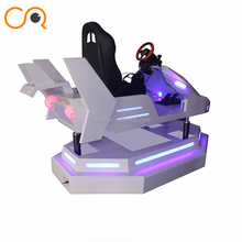 Attractive virtual reality simulator F1 car racing 9D VR electric dynamic Platform vr driving game machine