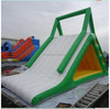 floating on water inflatable slide floating island inflatable water games