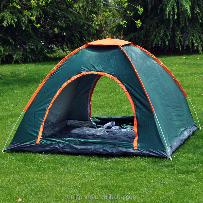 Fabric Ultralight 2 Person Double Layers Aluminum Rod Camping Tent 4 Season