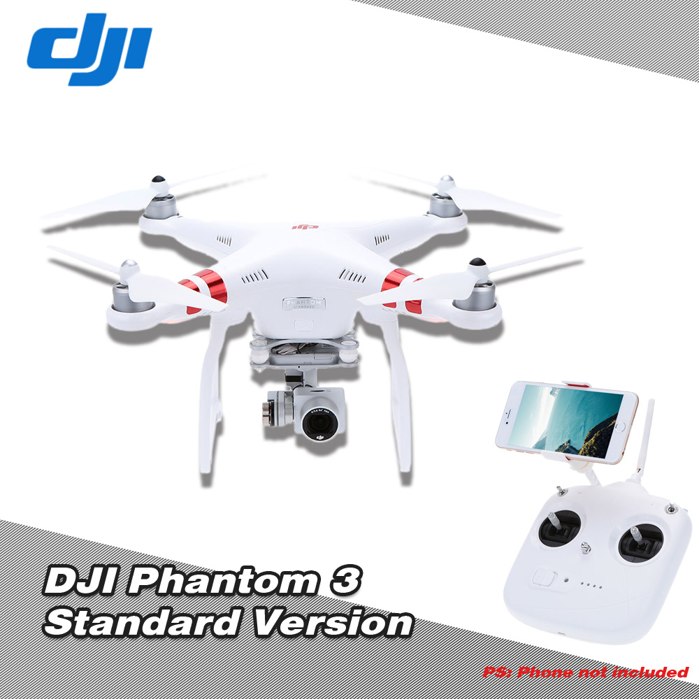 DJI Phantom 3 Standard FPV RC Quadcopter with Auto-Hover/Live GPS/Auto-return home/Failsafe RTF,shipping from US warehous RM4231