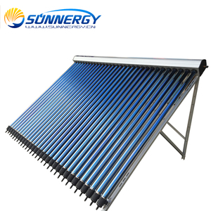 30 evacuated tubes solar energy hot water collector