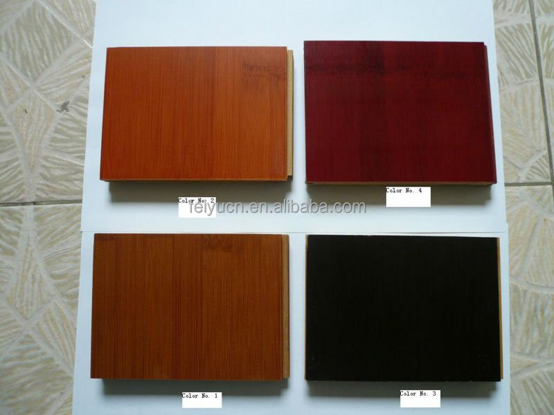 Grandeur stained walnut black color bleached bamboo flooring/floors direct from Jiangxi manufactuer