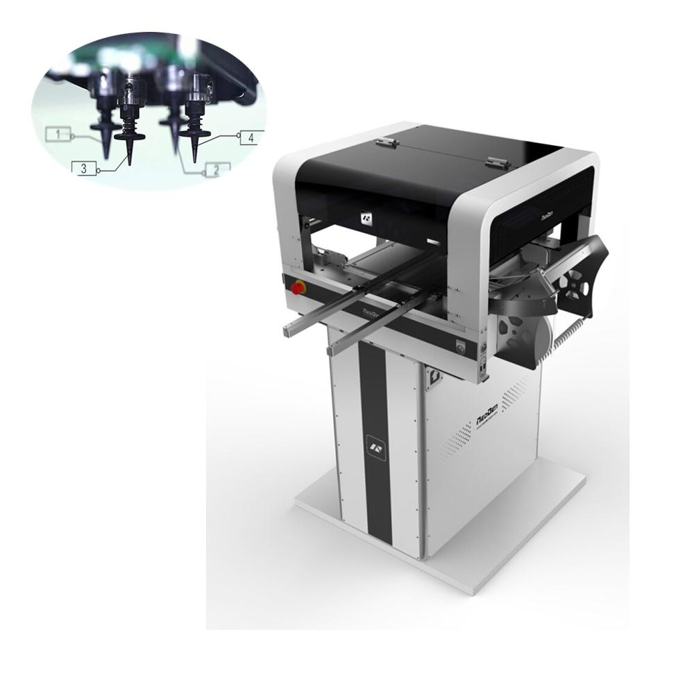 Back To Search Resultstools Welding & Soldering Supplies Dependable Performance Pick And Place Smt Low Cost Smt460 Led Assembling Machine With Automatic Conveyor High Quality And Inexpensive