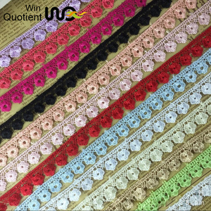 2017 cheap embroidery lace fabric,african cord lace